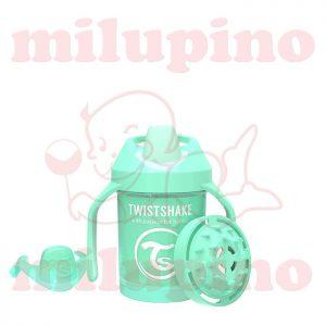 Twistshake dečija flašica Pastel 230ml Zelena