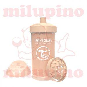 Twistshake dečija flašica Pastel 360ml Bež