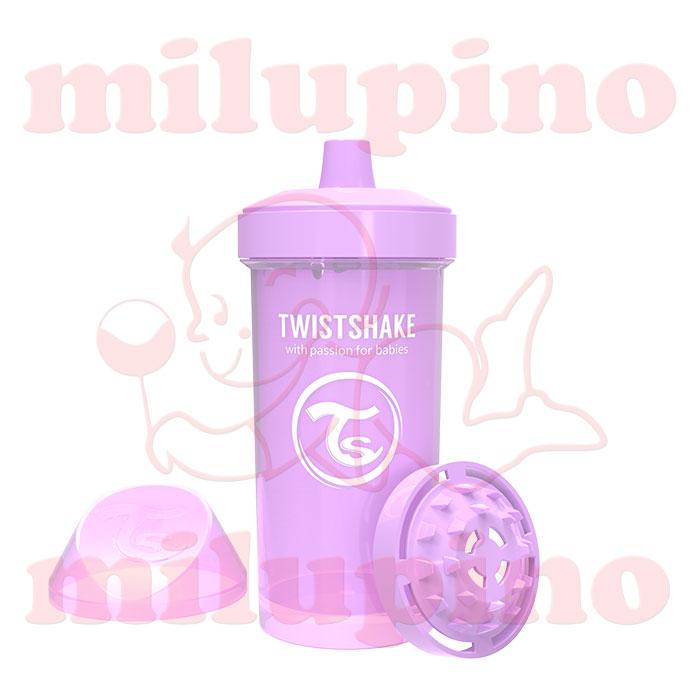 Twistshake dečija flašica Pastel 360ml Lila