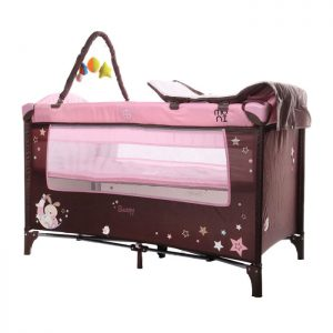Cangaroo prenosivi krevetac Sleepy 2 nivoa Pink