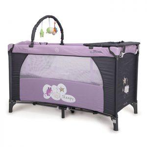 Cangaroo prenosivi krevetac Sleepy 2 nivoa Purple