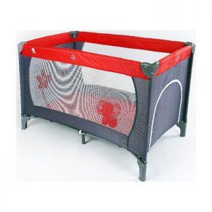 BBO prenosivi krevetac 1 nivo Sivo crveni