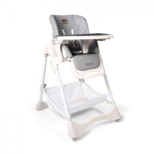 Cangaroo stolica za hranjenje Chocolate Grey