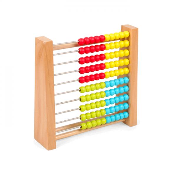 Pino Računaljka, je edukativna i didaktička igračka pomoću koje dete uči pojmovno predstavljanje brojeva, brojnog niza, jedinica i desetica u prvoj stotini.