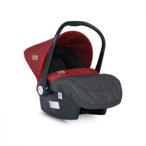 Lorelli Berton auto sedište Lifesaver Black and Red 0-13kg