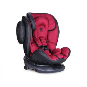 Lorelli Bertoni auto sedište Aviator Black and Red Isofix 0-36kg