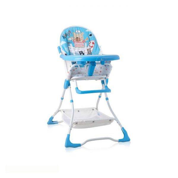 Lorelli Bertoni stolica za hranjenje Bonbon Blue Sailor