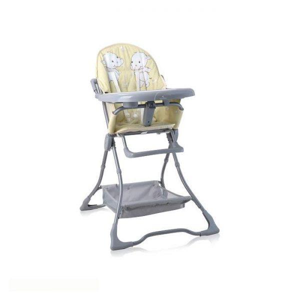 Lorelli Bertoni stolica za hranjenje Bonbon Yellow Happy Hippo