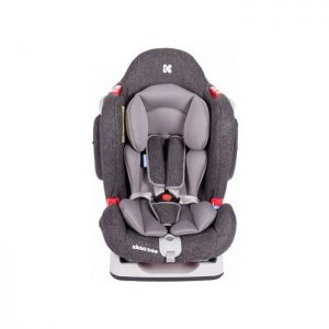 KikkaBoo auto sedište O'Right Dark Grey 0-25kg