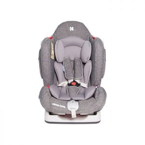 KikkaBoo auto sedište O'Right Grey 0-25kg