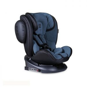 Lorelli Bertoni auto sedište Aviator Black and Blue Isofix 0-36kg