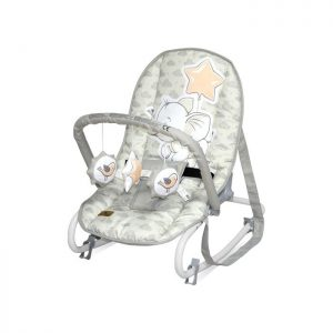 Lorelli Bertoni ležaljka Top Relax Light Grey Elephant