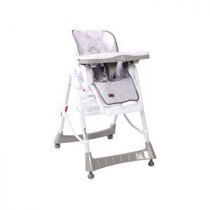 Lorelli stolica za hranjenje Gusto Grey Bunny
