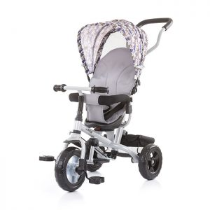 Chipolino tricikl Max Ride 3u1 Grey
