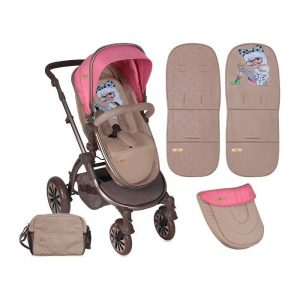 Lorelli kolica Aurora Rose Beige Fashion Girl