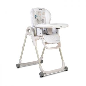 Cangaroo stolica za hranjenje Delicious White