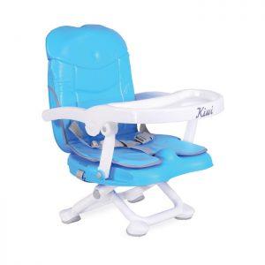 Cangaroo prenosiva stolica za hranjenje Kiwi Blue