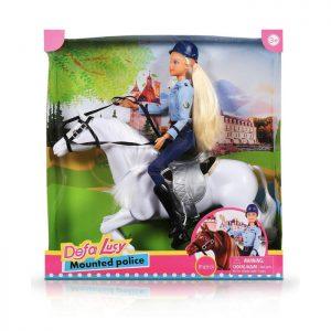 Defa Lucy lutka Policajka na konju