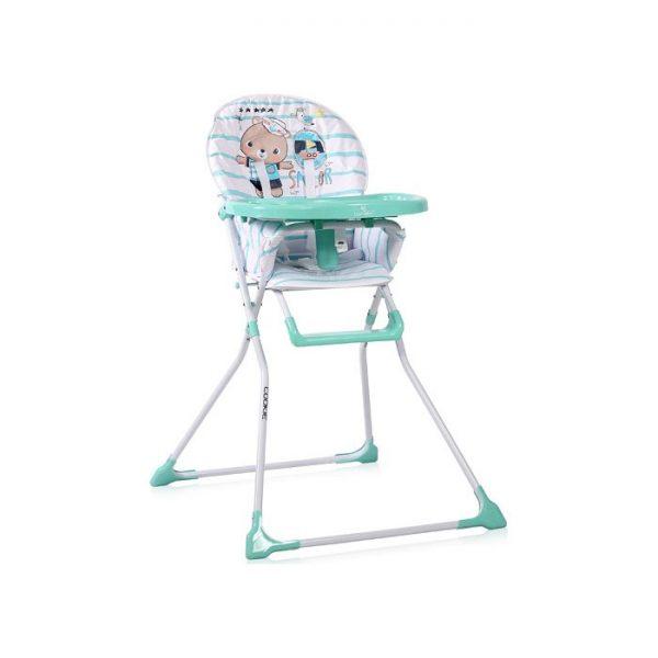 Lorelli stolica za hranjenje Cookie Aquamarine Sailor