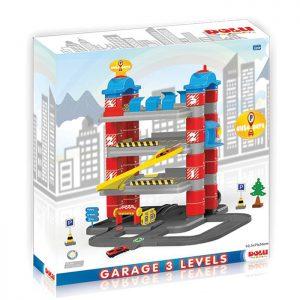 Auto garaža na tri nivoa