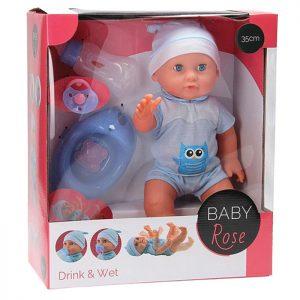 Baby Rose lutka sa nošom