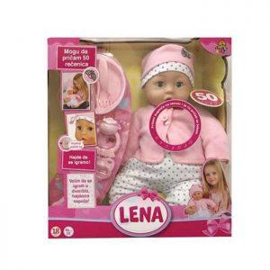 Interaktivna lutka Lena 50 reči