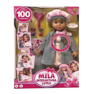 Interaktivna lutka Mila 100 rečenica