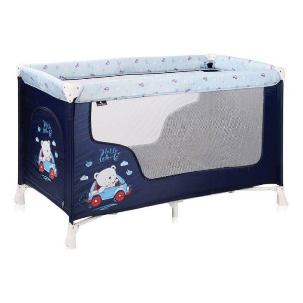 Lorelli Bertoni prenosivi krevetac STR 1 nivo Blue Bear