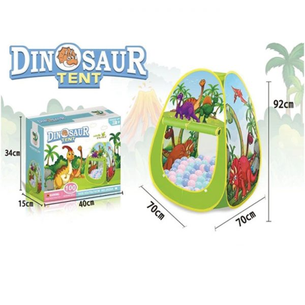 Šator sa lopticama Dino