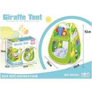 Šator sa lopticama Žirafa