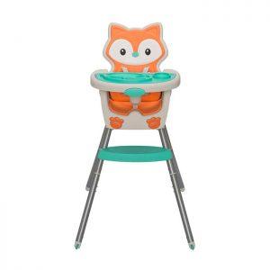 Infantino stolica za hranjenje 4u1 Grow with me Orange