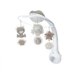 Infantino vrteška za krevetac sa projektorom Beige