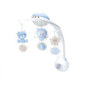 Infantino vrteška za krevetac sa projektorom Blue
