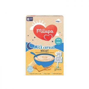 Milupa instant kaša sa mlekom Biscuit 8m+