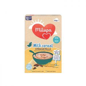 Milupa instant kaša sa mlekom Straciatella 12m+
