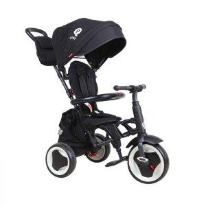 QPlay dečiji tricikl Rito plus Black