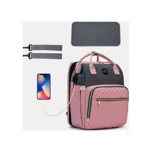 Torba za mame BT023 Sport Mama Bag Pink