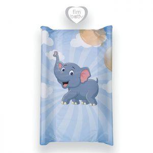 Fim podloga za povijanje tvrda slonić plavo