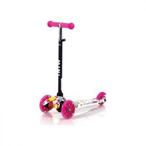 Lorelli trotinet Mini Pink flowers