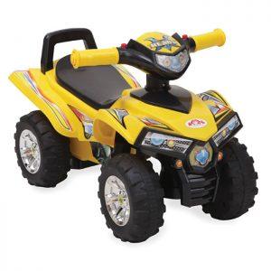 Moni guralica ATV Yellow